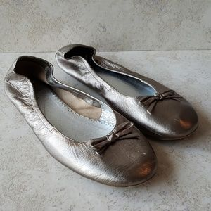 Boden (mini) Metallic Flats